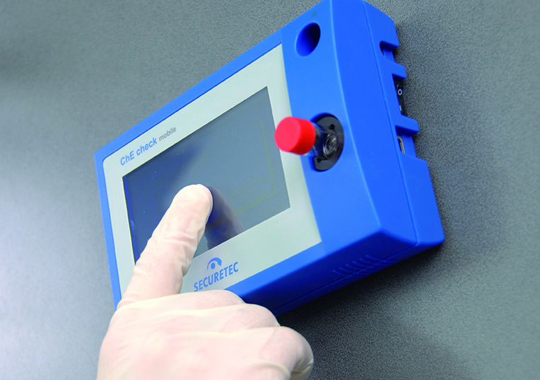 Point-of-care test system to measure cholinesterase (ChE check mobile)