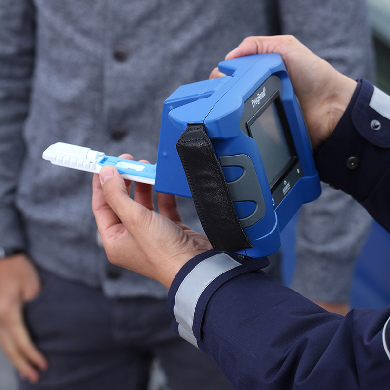 DrugRead® – hand-held device for mobile test interpretation